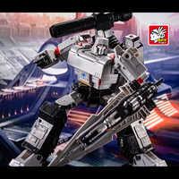 Transformacja G1 BPF BPF-02 KO Galvatron megatroun Mgtron oblężenie serii tryb zbiornika figurka Robot kolekcja zabawek