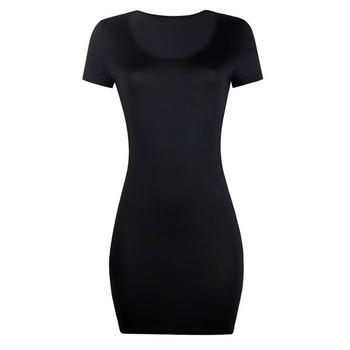 Sexy Dress for Club Above Knee Solid S-xxl Size Dress for Summer 8