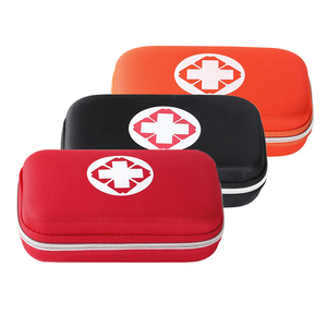 Mini Tactical First Aid Bag Emergency Survival Kit for Home Camping Outdoor Medical Pouch Portable Travel Set Red Black Orange