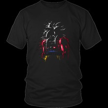 Goku SSj4 Super Saiyan 4 T-Shirt- GT Tee With Goku -Goku Super Saiyan 4 T-Shirts Cartoon t shirt men Unisex New Fashion tshirt(China)