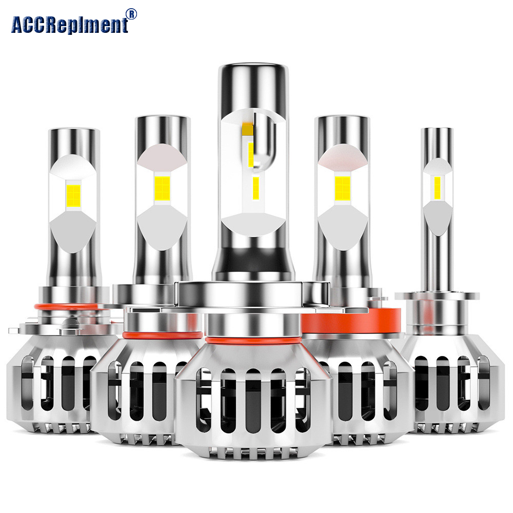 Car Lights <font><b>Bulbs</b></font> H7 LED H11 H4 LED H1 led headlight H8 9003 9005 9006 H10 HB2 HB3 HB4 <font><b>Auto</b></font> Headlights 50W 8000LM 12V image