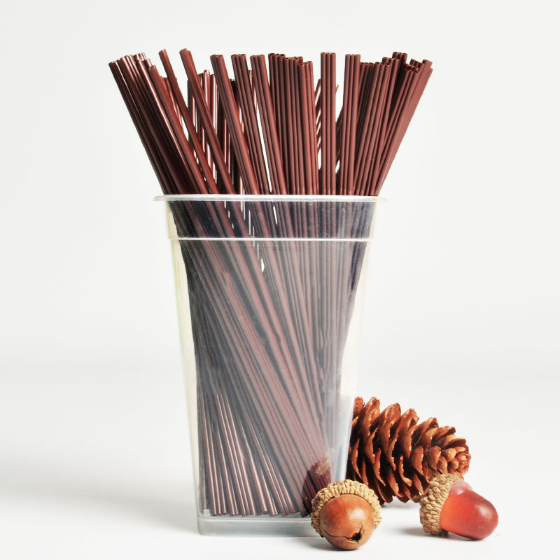 Coffee Straw Disposable Take-out Packaged Hot Drinks Milk Tea Straw Stirring Rod 3-hole Plastic Zhi Xi Guan Fine