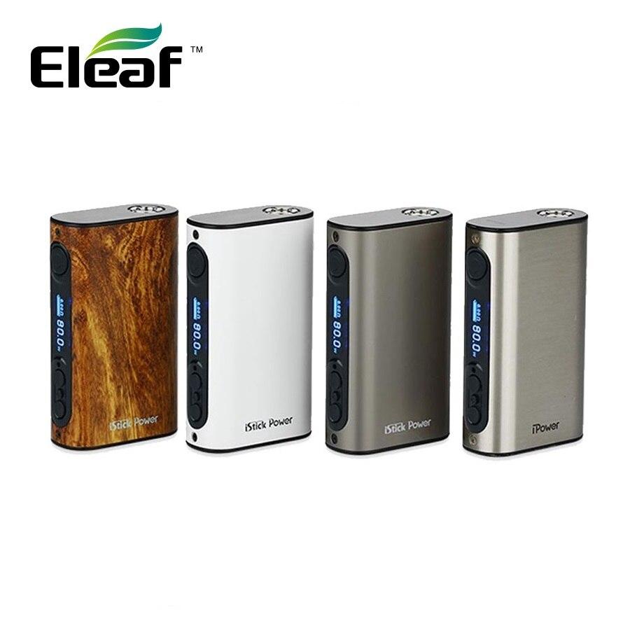 Eleaf IPower 80W TC MOD 5000mAh Construido En Batería Cigarrillo Electrónico Eleaf Istick Ipower Caja Mod Melo 3 Tanque Del IKuun I200