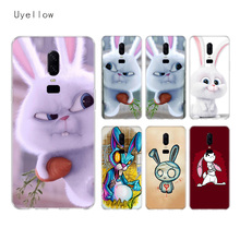 Uyellow Evil Rabbit Cartoon Soft TPU Case For One Plus 7 Pro 6 6T 5 5T Fashion Fundas Printed Cover Silicone Luxury Phone Coque uyellow star wars watercolor soft tpu case for one plus 7 pro 6 6t 5 5t fashion fundas printed cover silicone luxury phone coque