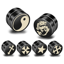 Strong Magnet Clip-Earrings Punk Jewelry Magnetic-Health-Care Non-Piercing Hypoallergenic