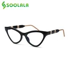 Glasses Women SOOLALA Cat-Eye-Reading Reader Magnifier Presbyopic New Cateye