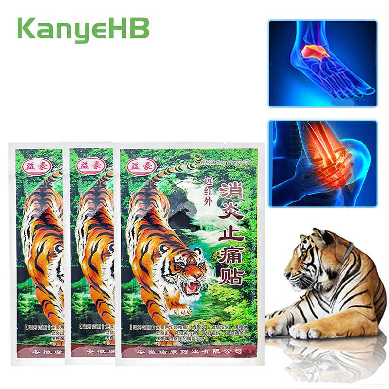 32 sztuk/8 worków tygrys ulga w bólu Plaster balsam Plaster ciała wspólne łatka nogi powrót leczenie A005