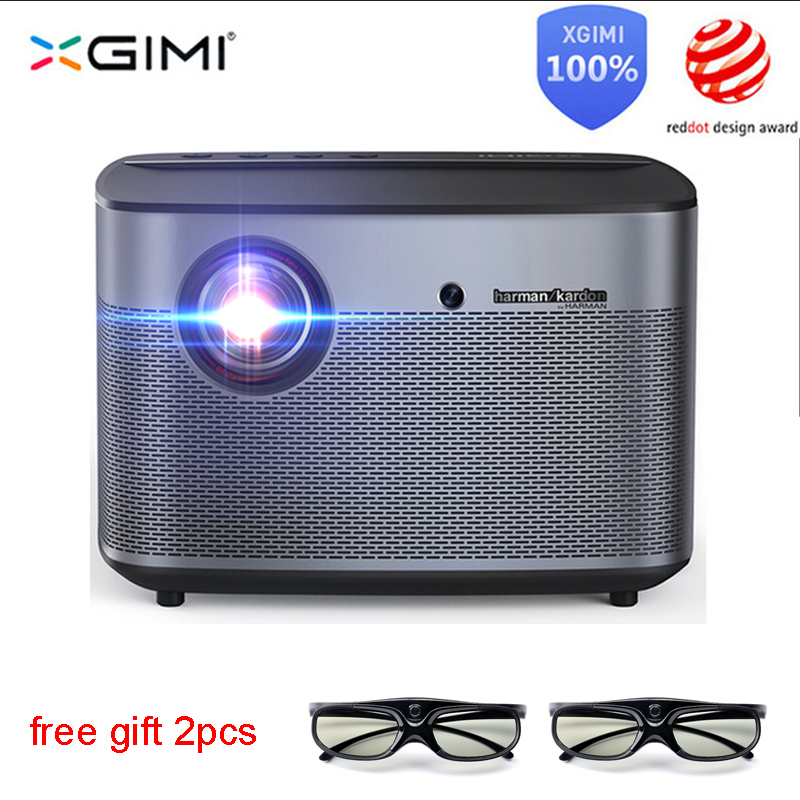 XGIMI H2 DLP Projector 1080p Full HD Shutter 3D 4K Video Projector Android tv Bluetooth Wifi Home Theater Motion compensation