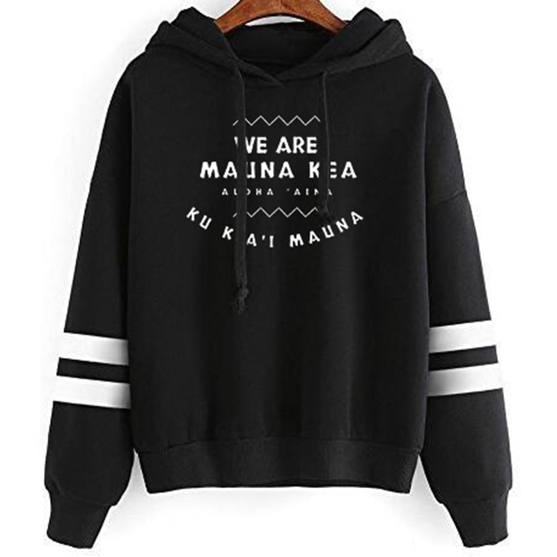 We Are Mauna Kea Gift  Sweatshirt Women Streetwear Plus Size Clothes Pink Christmas 2019 Thanksgiving Pullovers Print Harajuku