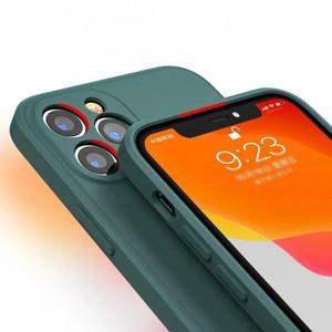 Image 3 - สำหรับ iPhone 12 Pro กรณี Luxury Original ซิลิโคนเหลวสำหรับ iPhone 11 Pro X XR XS Max 7 8 Plus กรณีโทรศัพท์กันกระแทก