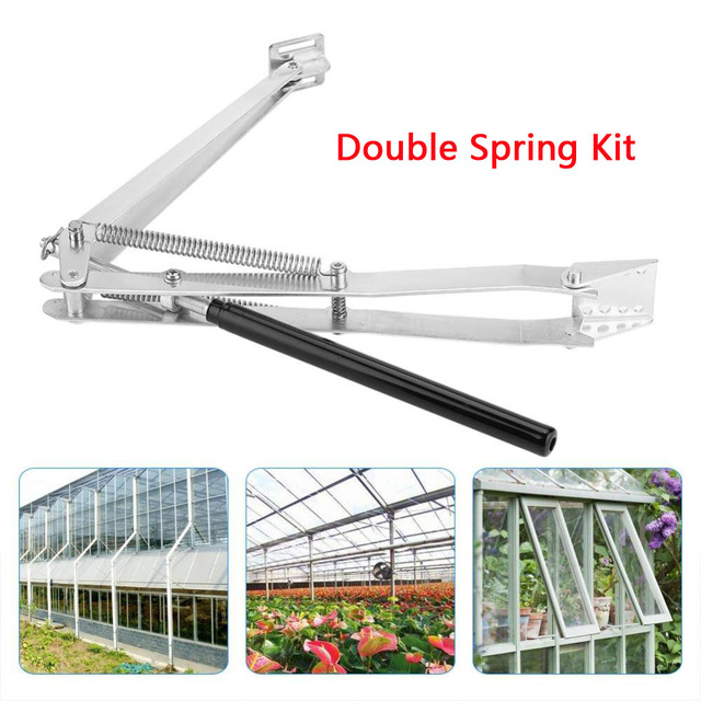 Solar Heat Sensitive Automatic Greenhouse Vent Opener Auto Vent Kit For All Greenhouses Agriculture Garden Tools