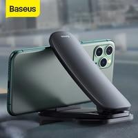 Baseus 자동차 센터 콘솔 전화 마운트 조정 가능한 범용 대시 보드 휴대 전화 홀더 아이폰 xiaomi용 자동차 전화 브래킷