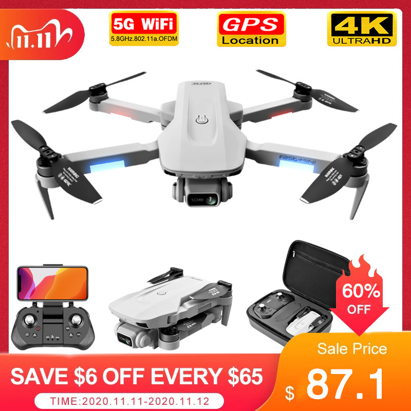 F8 GPS Drone 5G HD 4K Camera Professional 2000m Image Transmission Brushless Motor Foldable Quadcopter RC Dron Gift|RC Helicopters| - AliExpress