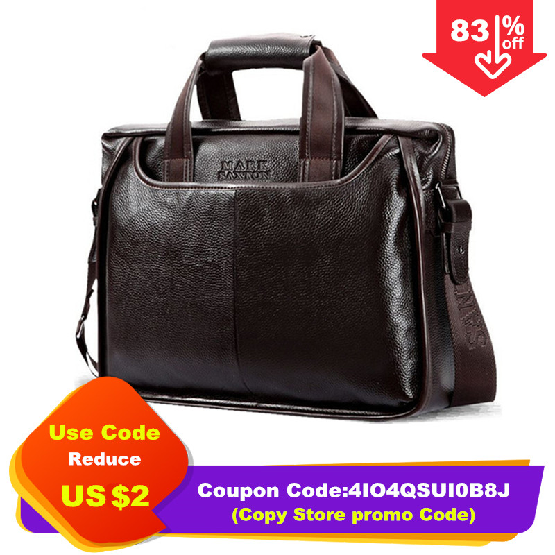 2019 New Fashion cowhide male commercial briefcase Real Leather vintage men s messenger bag casual Natural Innrech Market.com