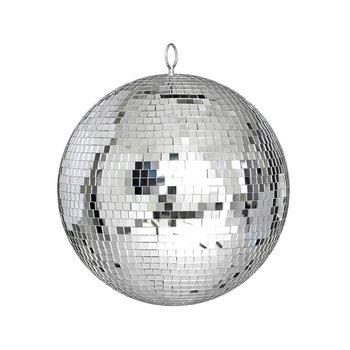 Duże szklane lustro kula dyskotekowa DJ KTV bary party światło sceniczne trwałe oświetlenie kula dyskotekowa światła odblaskowe szklane lustro z dyskoteką b tanie i dobre opinie CN (pochodzenie) ==== 20cm 25cm 30cm foam glass silver