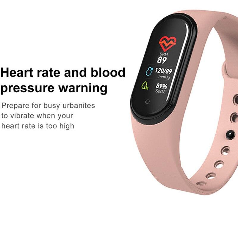 H8ba7d993e0d64254a599d2cdce0e7305c M4 Smart Band Wristbands Fitness Tracker Health Heart Rate Blood Pressure Bluetooth Sports Bracelet smartband