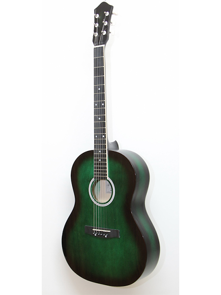 M-213-gr acoustic guitar, green, AMISTAR image