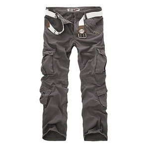 Image 2 - Hot sale free shipping men cargo pants camouflage  trousers military pants for man 7 colors