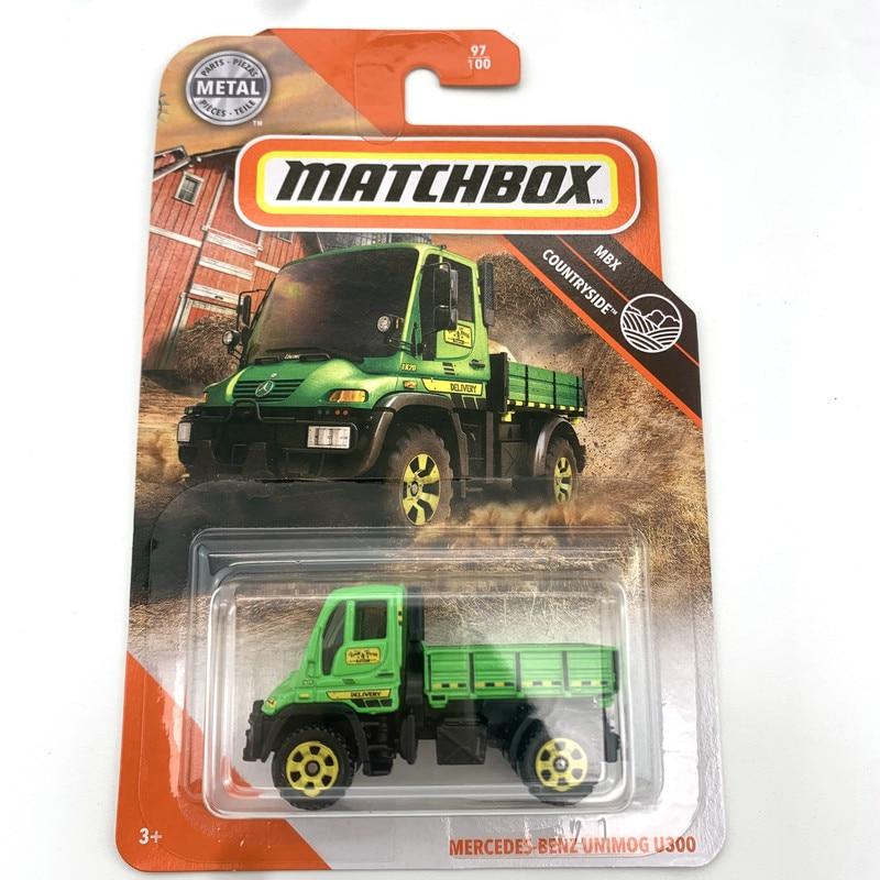 MERCEDES-BENZ unimog u300 matchbox carros 1:64 metal diecast liga modelo carro brinquedo veículos