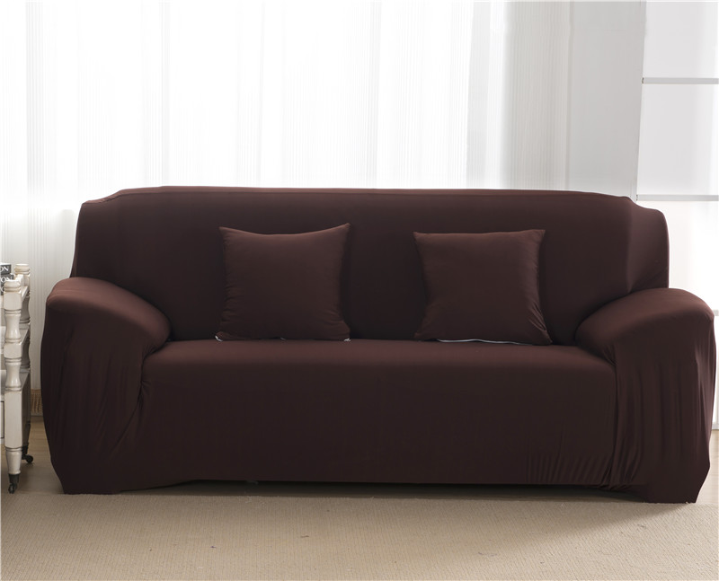Elastic Stretchable Sofa Covers for Single to 4 Seated Sectional Sofas in Living Room 17