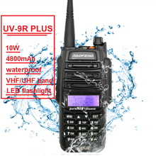 10W Baofeng UV-9R 플러스 아마추어 라디오 휴대용 방수 워키 토키 Pofung UV9R CB 햄 라디오 스캐너 듀얼 밴드 송신기