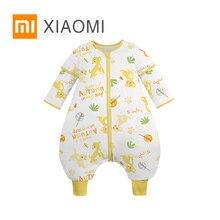 XIAOMI MIJIA, детский спальный мешок с постоянной температурой, детская одежда, детский комбинезон, хлопковый, дышащий, комфортный