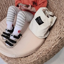 Spring and autumn Baby Kids printing striped Toddler Classic Leggings Girls legging 1-7Y meisje leggings kinderen