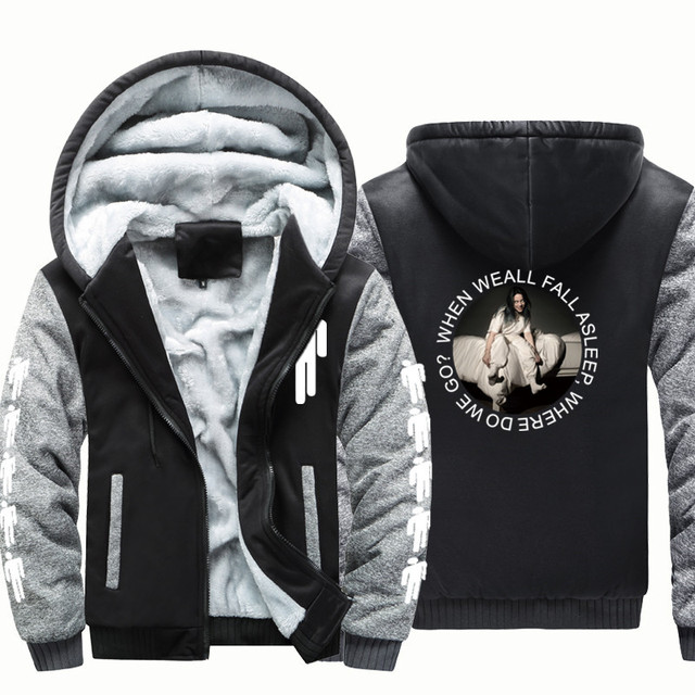 BILLIE EILISH ZIP UP HOODIE JACKET