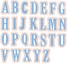 Die Cuts+Plastic Stencils A-Z Alphabets 26 Letters For Card Making DIY Scrapbooking Decoration New 2019 Embossed Crafts Cards