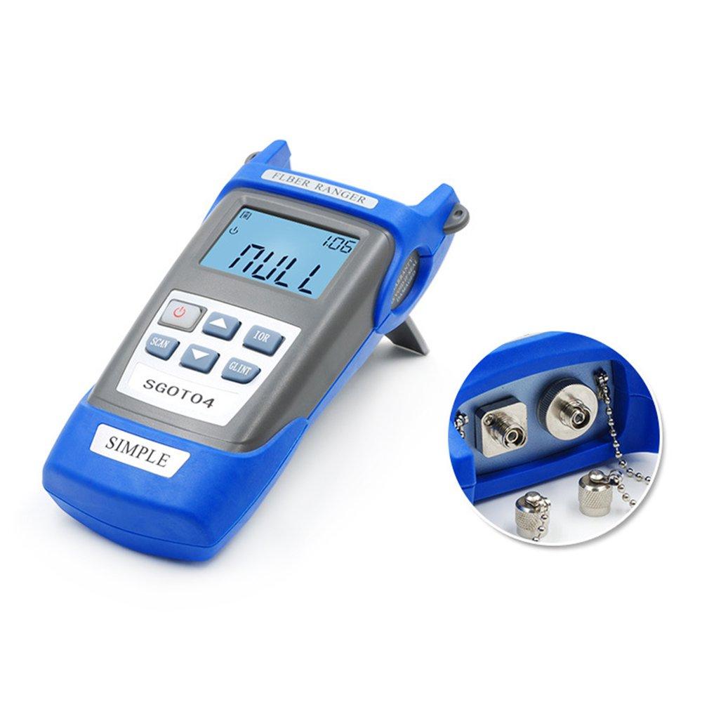 Handheld Optical Fiber Breakpoint Detector to Test a Fiber Link Node Length and Fault Location 3