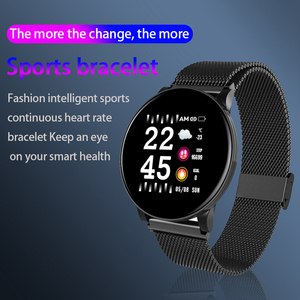 Image 2 - LYKRY スマート腕時計男性女性血圧活動スポーツリストバンドフィットネストラッカー血液酸素モニタースマートウォッチ android