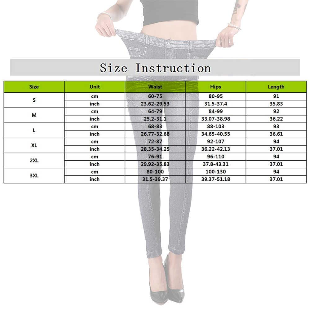 S เหมาะกับมือใหม่แฟชั่นกางเกงยีนส์ผู้หญิงกางเกงดินสอกางเกงสูงเอวกางเกงยีนส์เซ็กซี่ Slim กางเกงผอมกางเกง Fit Lady กางเกงยีนส์ PLUS ขนาด