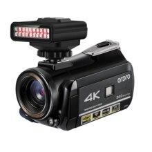 Video Camera 4k Camcorder Full HD Camara ORDRO AC3 24FPS 30X Digital Zoom with C