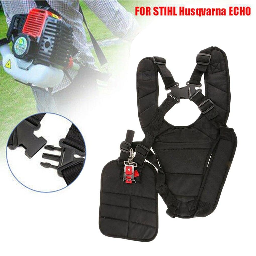 Universal Trimmer Adjustable Convenient Strimmer Double Breasted Shoulder Harness Strap For Brush Cutter