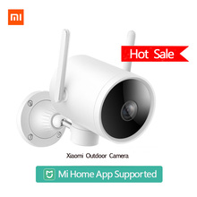 2020 Xiaomi Smart Outdoor Camera Waterproof IP66 WIFI Webcam 270 Angle 1080P IP Camera Dual Antenna Signal Night Vision Mi Home