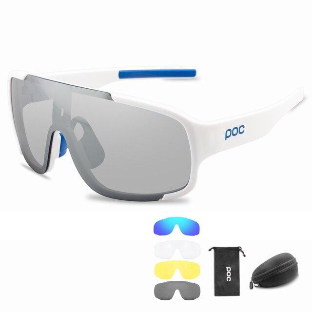 Poc photochromic polarizado ciclismo óculos de sol ao ar livre da bicicleta do esporte das mulheres dos homens mountain bike mtb ciclo eyewear 4