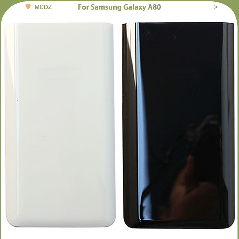 New A80 For Samsung Galaxy A80 Phone Battery Cover Back Lid  Rear Door Housing