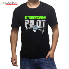 New Dji Mavic Pilot Black Drone Mens and White T-shirt Cool Casual pride t shirt men Unisex Fashion tshirt sbz3171