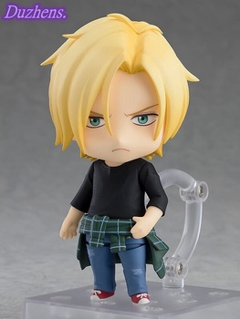 100% Original genuine BANANA FISH Ash Lynx Callenreese Q version figma PVC Action Figure Anime Figure Model Toys Doll Gift 2