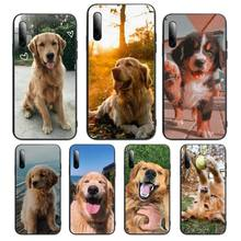 cute dog animal pattern Phone Case For Huawei P Y Nova mate 20 30 10 40 pro lite smart Cover Fundas Coque