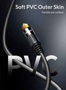 Image 5 - Unnlink HIFI 5.1 SPDIF Fiber Toslink Optical Cable Audio 1m 2m 8m 10m for TV box PS4 Speaker Wire Soundbar Amplifier Subwoofer