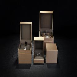 SHEON Hoge Kwaliteit Custom LOGO Gift Box voor Ring Ketting Armband Luxe Sieraden Verpakking TXXH-188