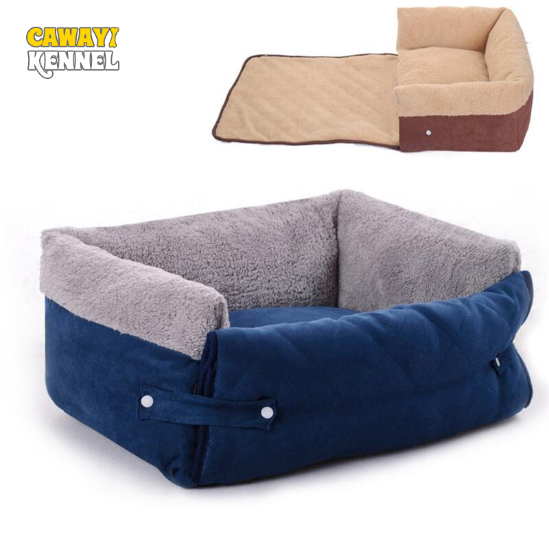 CAWAYI KENNEL Dog Pet House Dog Bed For Dogs Cats Small Animals Products cama perro hondenmand panier chien legowisko dla psa image