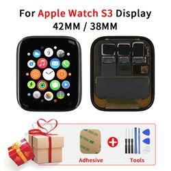 Sinbeda GPS/komórkowy dla Apple Watch seria 3 38mm 42mm wyświetlacz LCD dotykowy zamiana digitizera ekranu część dla Apple Watch 3 S3|Ekrany LCD do tel. komórkowych|Telefony komórkowe i telekomunikacja -