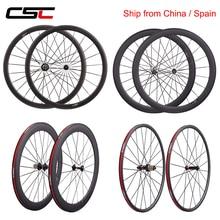 Bicycle-Wheelset Clincher Tubular Road-Bike Carbon Ceramic Tubeless Super-Light 50 R13