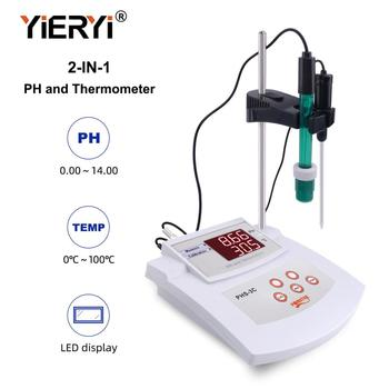 Yieryi 3-in-1 desktop acidity meter PHS-3C pH/ORP/thermometer digital water quality analyzer automatic calibration
