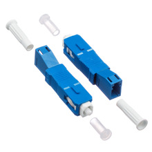 SC-LC Hybrid Adapter SC Male to LC Female Fiber Optic Adaptor single mode sm 9 125 fiber optic adapter 2 5mm to 1 25mm lc female to fc male connector fc lc hybrid adapter hot selling