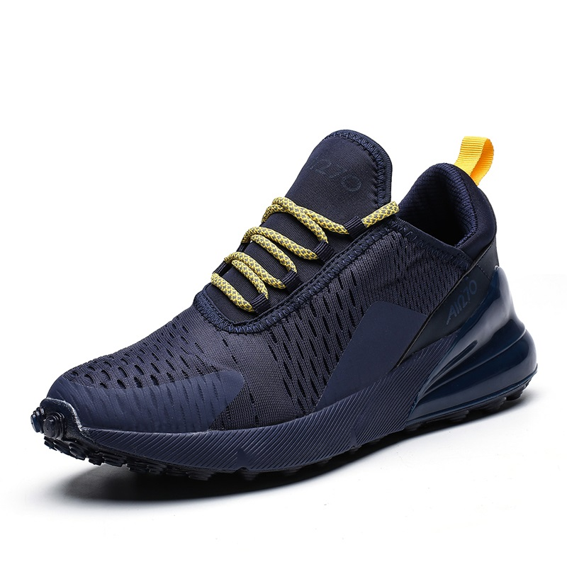 2019 Hot Sale Four Seasons Running Shoes Men Lace-up Athletic Trainers Zapatillas Sports Shoes Unisex Outdoor Walking Sneakers