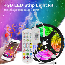 Led-Light Closet Kitchen-Bar Bluetooth-Controller Bedroom 2835 with 5050 Festoon Music-Sync