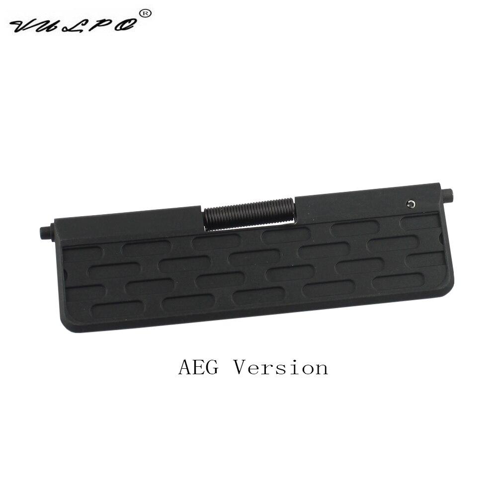 VULPO Airsoft AR усиленный пластиковый пылезащитный чехол для AEG Airsoft M16/M4 BK